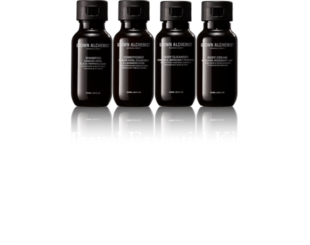 GROWN ALCHEMIST BOTANICAL BEAUTY Travel Essential Kit トラベルエッセンシャルキット 4,000mile